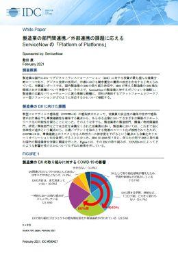 最新調査で知る製造業の「喫緊の課題」と「DX強化領域」 ─連携や協業を支える本質的な解とは?─